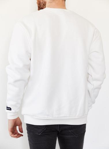 XHAN Sweatshirt Beyaz